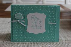 Stampin' Up! Baby Card