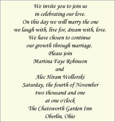 wedding invitations for second marriages google search wedding