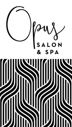 Hair and Beauty Salon Logo and Branding | #logo #brand #design | http://amandadevries.com/