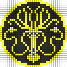 Game Of Thrones Greyjoy Sigil perler bead pattern