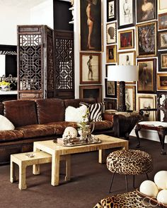 Love the Ming style tables shown in this apartment in Elle Decor? Find something similar here...