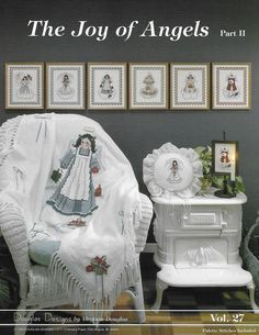 The Joy of Angels Part 2 Volume 27 from Douglas Designs Cross Stitch Designs, Cross Stitch Patterns, Pocket Pal, Vintage Cross Stitches, Baby Ducks, Better Homes And Gardens, Angels, Gallery Wall, Joy