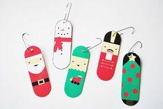 PRINTABLEクリスマス装飾| ユースリーダースタッシュ
