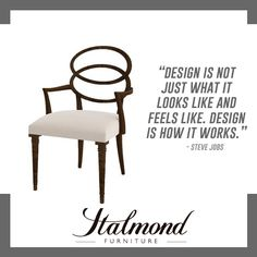 Design is how it works.  #Design #ItalmondFurniture #InteriorDesign