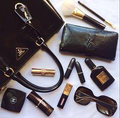 prada bag w/ designer items
