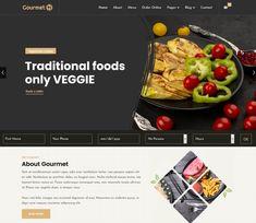 Joomla Premium & Professional Joomla Templates Joomla Templates, Design Templates, Cool Themes, Premium Wordpress Themes, A Table, Seo, Web Design, Gourmet, Design Web