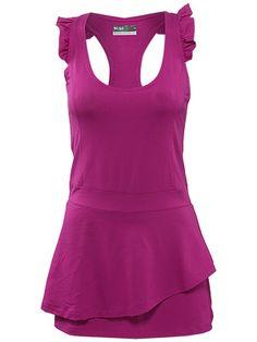 lija radiant fuse smash dress. playing tennis in style.