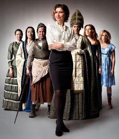 Top girls cast  marelene, popo joan, lady nijo, dull gret, Isabella bird