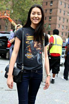 Liu Wen NYFW 2014