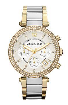 Michael Kors 'Parker' Chronograph Bracelet Watch