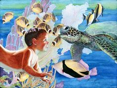Keiki Honu-Janet Stewart. Wish I could find this in print. It's one of my favorites!!!  <3
