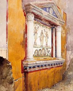 Pompeii And Herculaneum, World Famous Artists, High Renaissance, The Golden Years, Thing 1, Historical Art, Italian Art, Altar, Ancient History