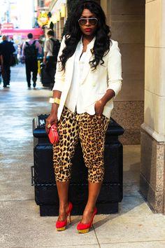 Love Life Pearls: NYFW Day 1: Miami Vice Meets Safari Chic