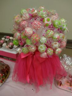 Cake pops by me for my nieces baby shower.