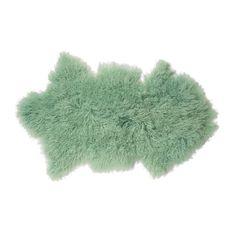 Bloomingville Schapenvacht mint groen