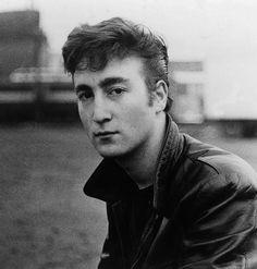 1960 - John Lennon (photo by Astrid Kirchherr).