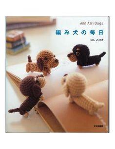 Dog Amigurumi Free Japanese Magazine On-Line (75pages)