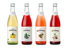 GarduMuti Are Traditional Latvian Soda Drinks — The Dieline | Packaging & Branding Design & Innovation News