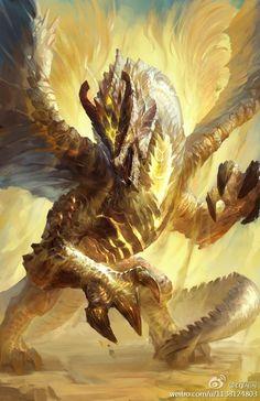 Resultado de imagen de fantasy light dragon