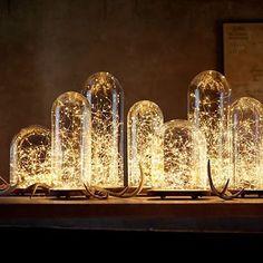 Sheeny Shiny 40 Mini Fiery LED Lights In 2 Packs Of 20 #VistaShops