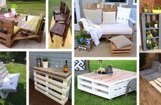 27 Stunning Outdoor Pallet Furniture Ideas You'll Love