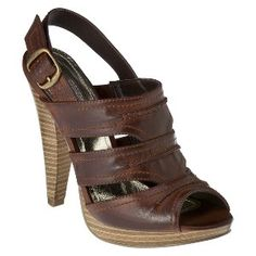 Target Mobile Site - Womens Mossimo Supply Co. Wogensen Heeled Sandal - Assorted Colors