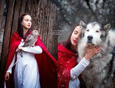 Les Contes De Fées Vus Par La Photographe Darya Kondratyeva