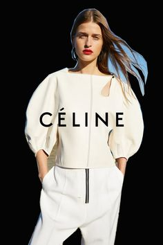 AD CAMPAIGN: Celine - Spring/summer 2016 - Photography: Juergen Teller Model: Karly Loyce, Regitze Christensen, Vera Van Erp & Daria Werbowy Designer: Phoebe Philo Hair: Jimmy Paul Make-Up: Adrien Pinault Juergen Teller, Phoebe Philo, Daria Werbowy, Celine 2016, Celine Campaign, Mode Lookbook, Logos Retro, Vintage Logos, Campaign Fashion