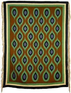 Carpet design by Jozef Czajkowski, produced in 1900.