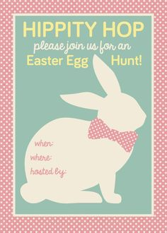 Free Printable Easter Egg Hunt Printable Signs  Recipe  Holiday