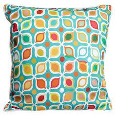 Vintage Geometric Pillow