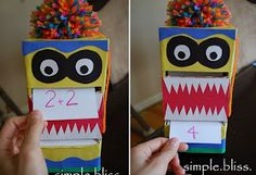 Simple Bliss: Monster Math Buddie