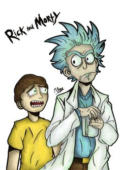 Rick And Morty. by VeratisShadowsion
