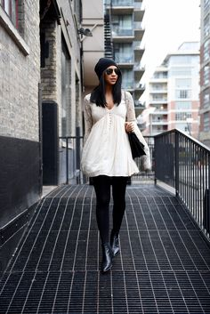 free people with love from india dress acne jensen boots not your standard fashion blogger kayla seah