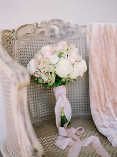 Dreamy pink and white bouquet // Photo by Ben Finch  #weddingbouquets #weddingcolors #castletonfarms #wedding #pinkwedding