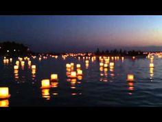 13th Shinnyo-en Lantern Floating on Memorial Day at Ala Moaba Beach #Hawaii