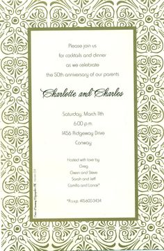 9 best southern invitations images on pinterest dinner invitation downloadable dinner invitations templates free download free printable rehearsal dinner invitation templates hd stopboris Choice Image