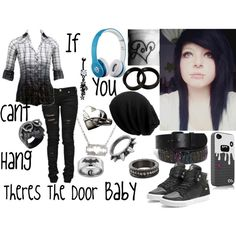 If You Can't Hang Then Theres The Door Baby, created by batmanjayy on Polyvore