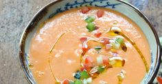 Dorian cuisine.com Mais pourquoi est-ce que je vous raconte ça... : Quand la chaleur monte opération fraîcheur en cuisine ! Gazpacho de mis amores ! Le gazpacho de la discorde ?