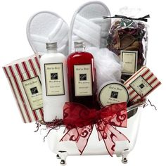 Bath and Body Works Spa Gift Baskets | Christmas Gifts for Everyone