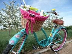 I want a cruiser bike, just so I can buy a pretty Betty Basket Liner :)