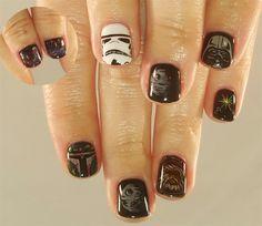 Day 125: Star Wars Day Nail Art - - NAILS Magazine