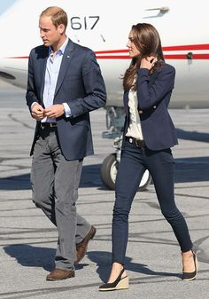 Her Royal Highness Catherine Duchess of Cambridge - I love everything about this outfit!