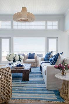 beachy living room