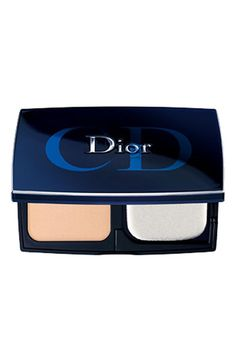 Diorskin 'Forever' Compact Flawless Perfection Fusion Wear Makeup SPF 25 available at Nordstrom --- Sold as a foundation but as a finishing powder for an airbrushed look.... Flawless