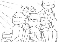 """chimeo-clock: """"another draw the squad… cinema time! """""""