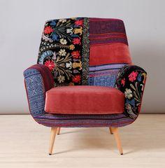 Bay armchair  oriental fever by namedesignstudio on Etsy, $1500.00