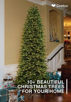 No matter the size of your space, you are sure to find the perfect Christmas tree for your home with this collection of 12 Beautiful Artificial Holiday Trees. By scoring your seasonal showstopper at Costco, you can stay on-budget while filling your home with the holiday essentials!