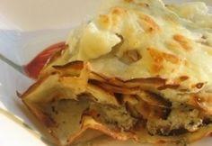 Gombával töltött palacsinta Lasagna, Ethnic Recipes, Mille Crepe, Crepes, Food, Dutch, Pancakes, Baby, Dutch Language
