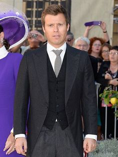 Prince Wenzeslaus of Liechtenstein, 39, is the 2nd son of Prince Phillip Erasmus and Isabella.  His younger brother Prince Rudolf of Liechtenstein & Tilsim Tanberk married Çırağan Palace at Çırağan Palace Kempinski İstanbul, Turkey in 2012.